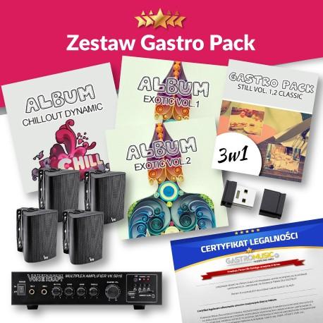 ZESTAW GASTRO PACK - BEZ RADIA