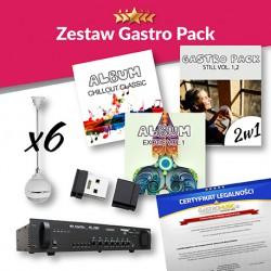 ZESTAW GASTRO PACK - BEZ RADIA FM - JAKOŚĆ