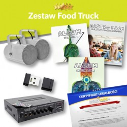 ZESTAW FOOD TRUCK - BEZ RADIA FM