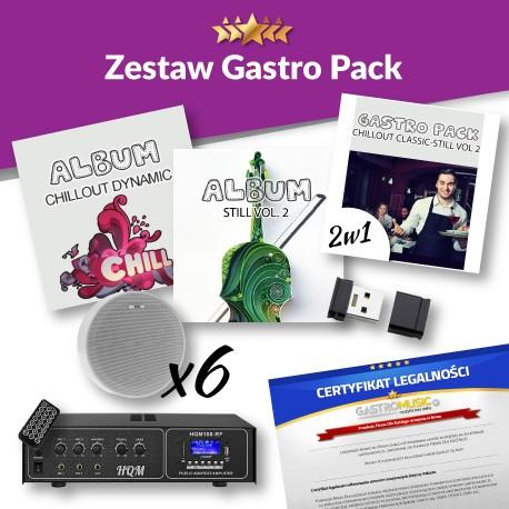ZESTAW GASTRO PACK - BEZ RADIA FM