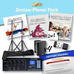 ZESTAW PLENER PACK - ZASILANIE 230V/12V - BEZ RADIA