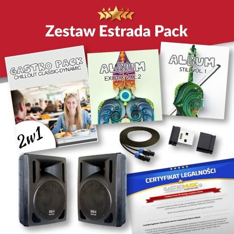 ZESTAW ESTRADA PACK - BLUETOOTH - PILOT - GŁOŚNY